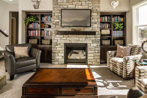 19 Walkout Level Fireplace