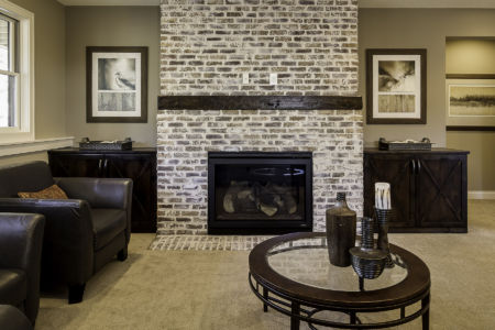 22 Walkout Level Fireplace
