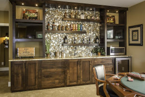 22 Walkout Level Wet Bar